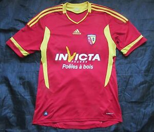 M Racing Club RC Lens 10-11 Home Shirt Reebok BNWT