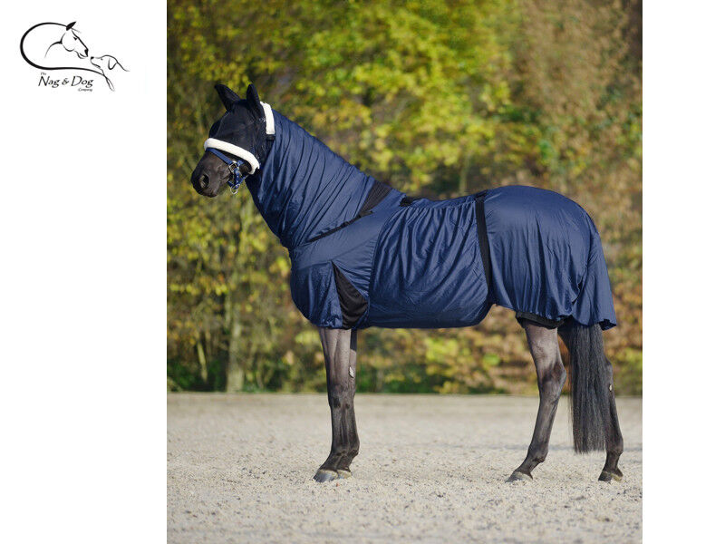 Waldhausen Sweet Itch Fly Rug UV Cheval Prougeection VENTRE PLEIN cou eczéma Feuille