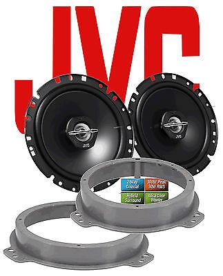 8P 03//2003-2012 Türen vorne  2-Wege Koax 300 Watt JVC Lautsprecher für AUDI A3