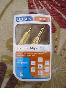 Logik-Headphone-Adapter-Kit-Brand-New