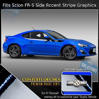 Decal Sticker Vinyl Side Stripe Kit Compatible with Subaru BRZ 2015 present 2 doors engine part