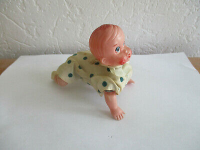 Dolls Automate Mécanique Années 50/60 Bébé Marcheur à 4 Pattes Poupon Vintage Dolls & Bears