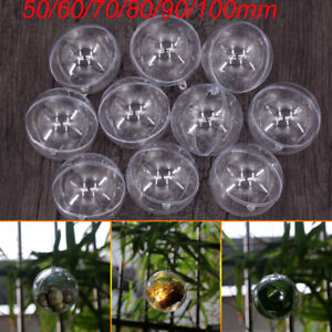 5X-10X Clear Balls heart Baubles Sphere Fillable box DIY Christmas Tree Ornament