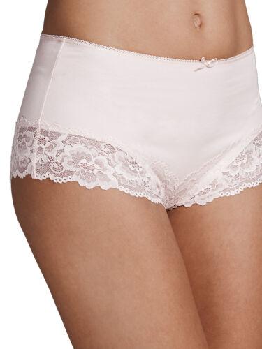 M/&S MOONDUST Cotton Blend High Rise Brazilian Knickers