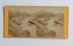 Biarritz Rochers Da Mer Con Cappella Stereo di Carta Albume D'Uovo Vintage C