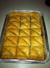 BAKLAVA! Homemade Baklava - BAKED FRESH & By Order!(30pc)