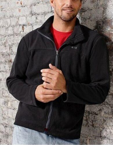 i H uomo Outdoor Black da Black Giacca Gr New s Fleecejacket 52 His d1x10w