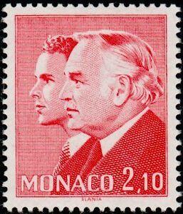 MONACO-N-1431-034-PRINCES-RAINIER-II-ET-ALBERT-2-F-10-ROUGE-034-NEUF-xxTTB