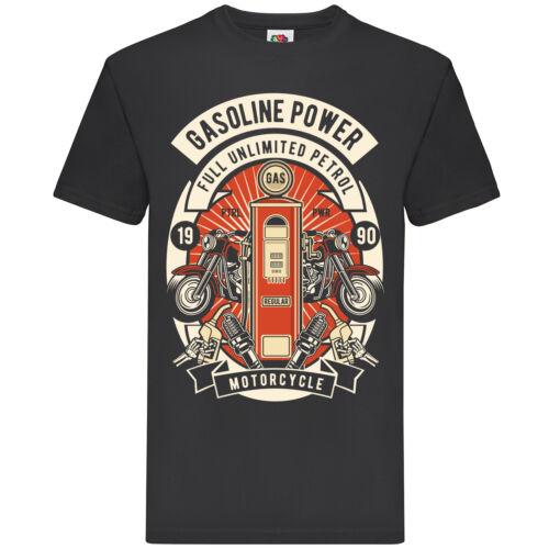 Gasoline Power t-shirt