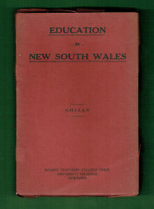 PP-EDUCATION-IN-NEW-SOUTH-WALES-BOOK-ABOUT-1923