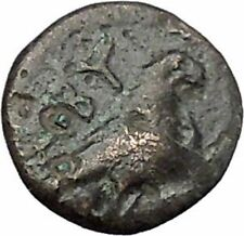 ABYDOS in TROAS 300BC Ancient Greek Coin APOLLO Cult Eagle wings closed i48158