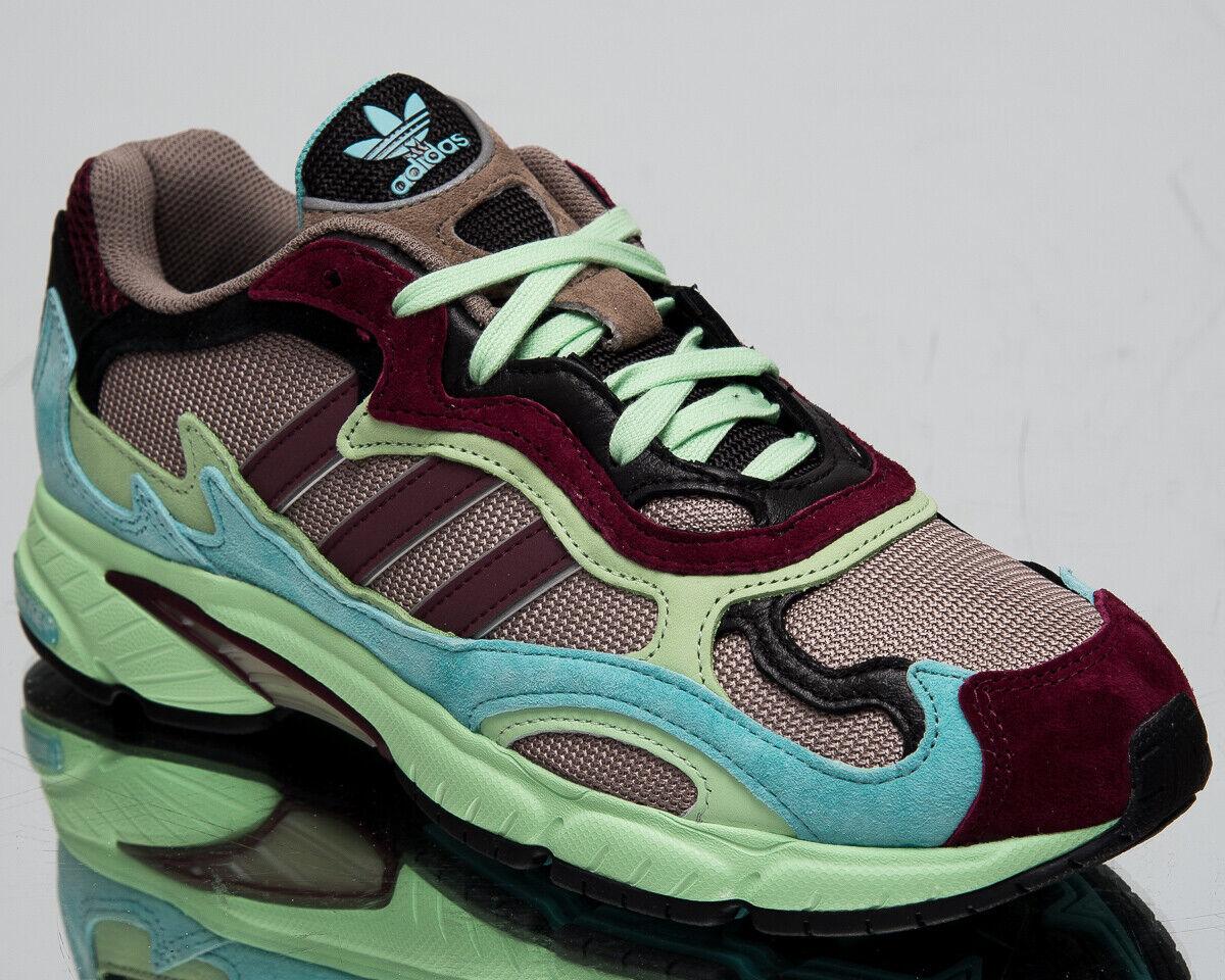 Adidas Original Temper Run Herren Schwarz Mint Freizeit Lifestyle Turnschuhe