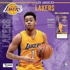 Cal 2017 Los Angeles Lakers 2017 12x12 Team Wall Calendar 9781469339382