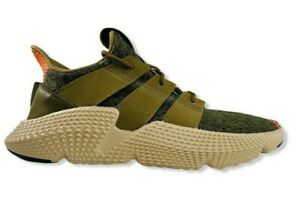 Adidas-Originals-Prophere-Men-039-s-Casual-Trainers-7-Trace-Olive-Solar-Red-CQ2127
