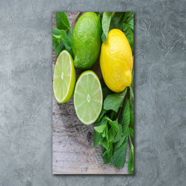 Wandbild Druck auf Plexiglas® Acryl Hochformat 60x120 Küstendünen