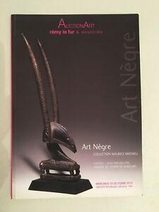 Catálogo De Venta Auctionart Remy El Toro & Relacionados Art Negro Octubre 2012