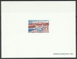 Senegal-Porcs-Hogs-Hausschwein-Epreuve-Deluxe-Die-Proof-1969