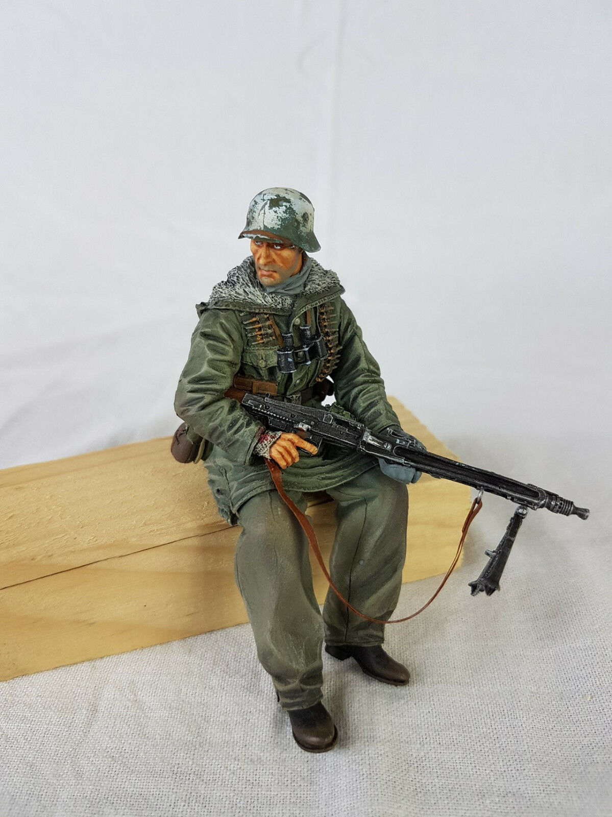 Built 1 16 scale Resin Figure Tank Rider for RC German Tank