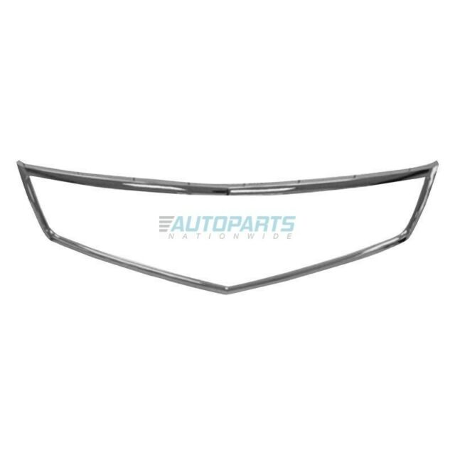 New Grille Molding Made Of Plastic 2006-08 Fits Acura TSX