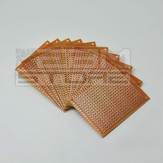 10 pz basetta millefori 50x70 mm 5x7 cm bachelite monofaccia - ART. AN10