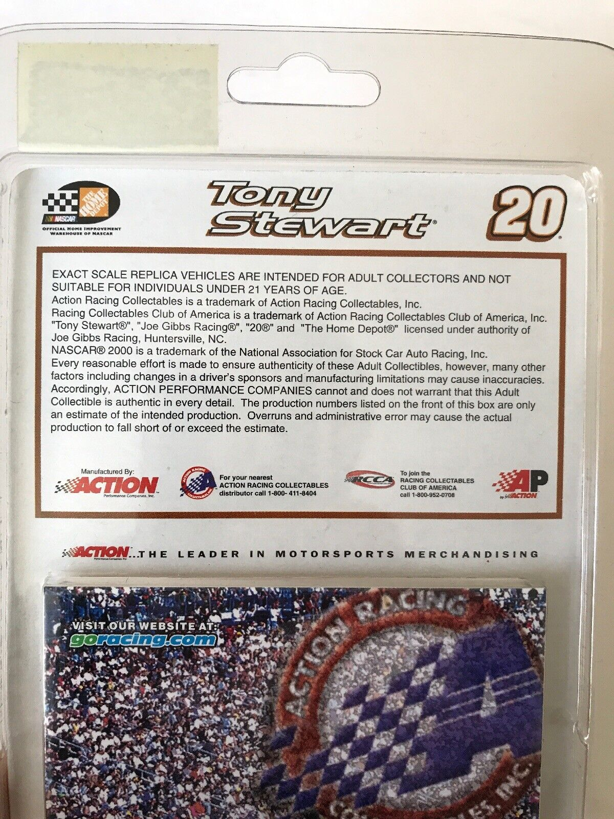 ACTION 1 64 TONY STEWART THE HOME HOME HOME DEPOT 2000 PONTIAC LIMITED EDITION DIECAST 658c80