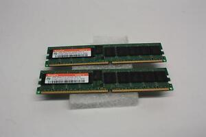 LOT-OF-2-HYNIX-HYMP125R72MP4-E3-2GB-2RX4-PC2-3200-ECC-REGD-SERVER-MEMORY