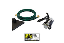 Portable Water Utility Transfer Removal Pump 115V 330GPH w/Hose & Suction Filter