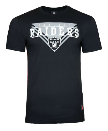 NFL Oakland Raiders T Shirt Mens ALL SIZES Official NFL Team Apparel Jersey