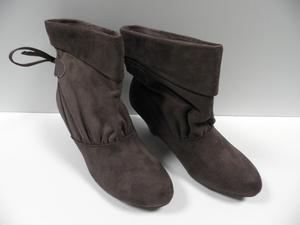 Chaussures POTI PATI marron FEMME taille 38 bottines woman shoes brown NEUF #1