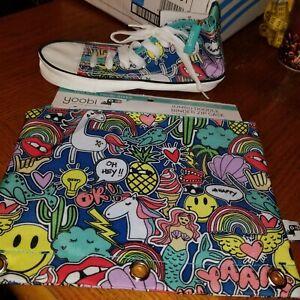 Yoobi Sneaker Pencil Case And Jumbo Doodle Binder Case