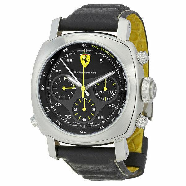 Panerai Ferrari Men S Black Watch Fer00010 For Sale Online Ebay