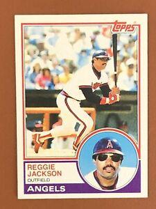 1983-Topps-Reggie-Jackson-Card-500-NM-Angels-NYY-HOF