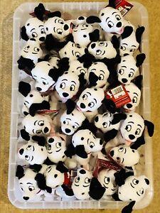 "Set Of 2 ""101"" Dalmatians Soft Plush Toy AB7"