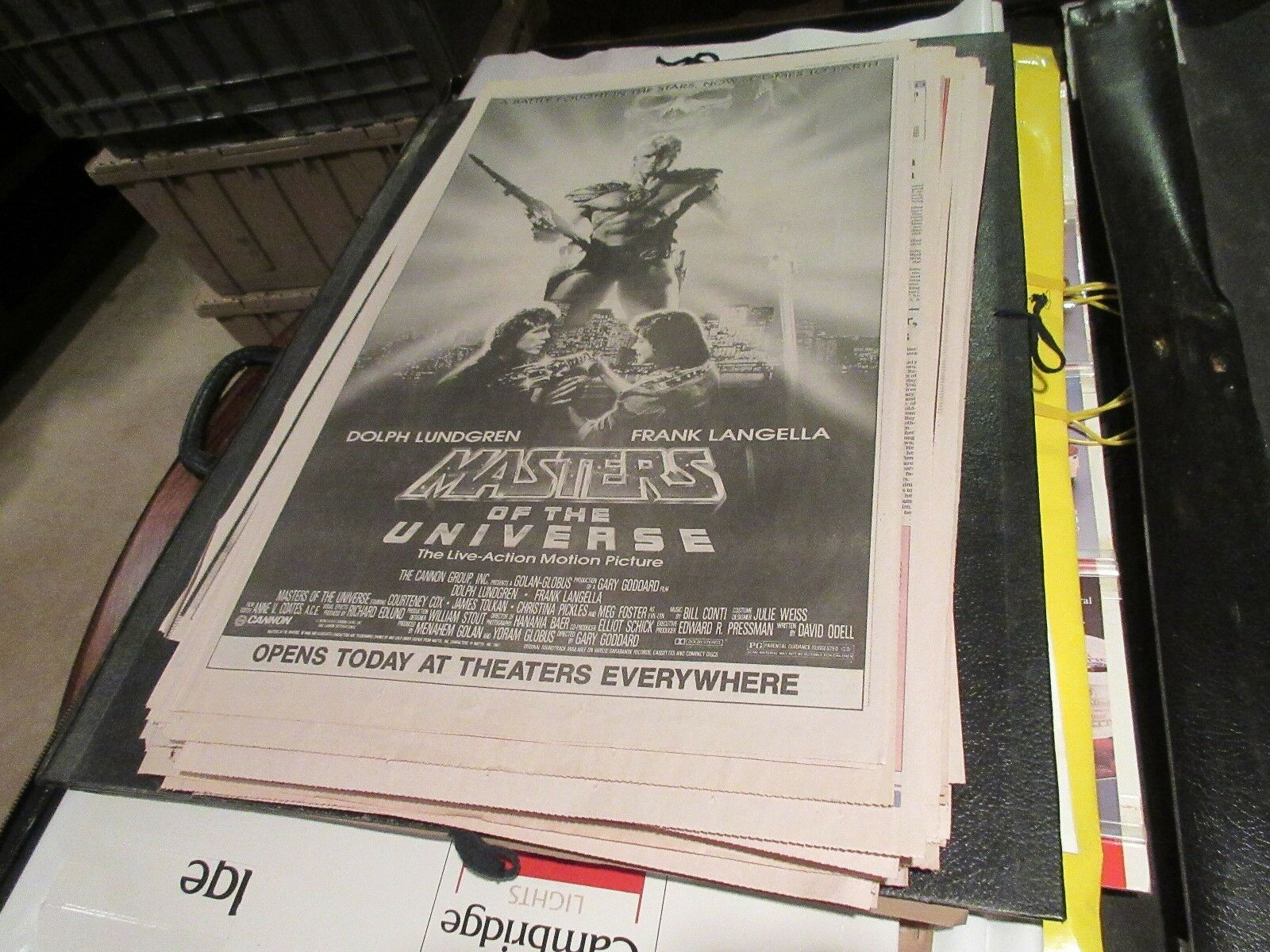 Masters of the Universe , USA Today , Newspaper Clippin