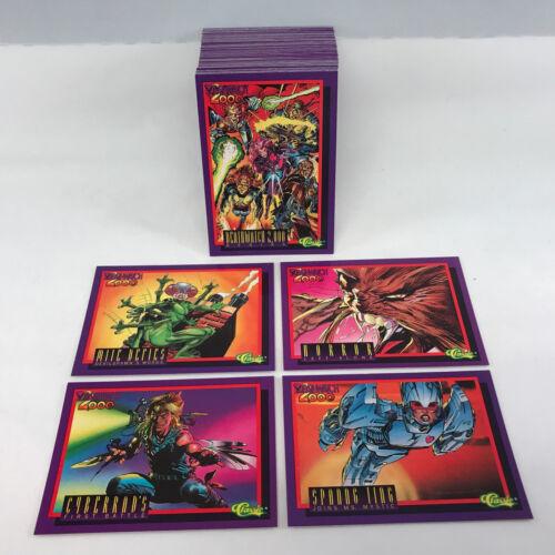 Complete Trading Card Set NEAL ADAMS Comic Art Classic//1993 DEATHWATCH 2,000