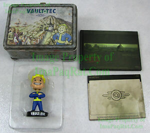 Fallout-3-Collector-039-s-Edition-NO-GAME-Lunch-Box-Bobblehead-Making-DVD-Art-Book