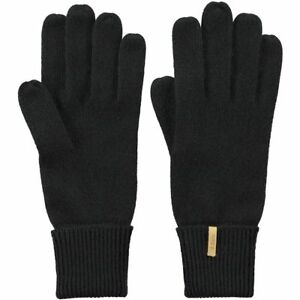 Barts-Fine-Knitted-Gloves-Black
