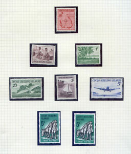 A collection of Cocos Keeling Islands stamps on 14 pages fine nh (2021/10/11#08)