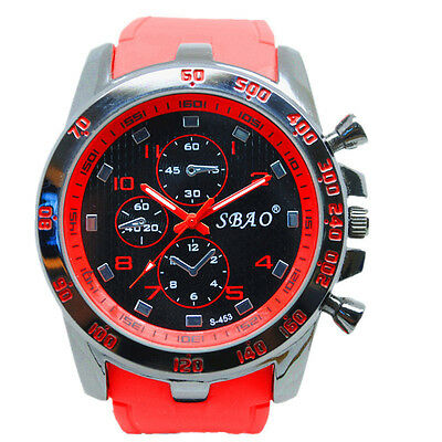 Luxury Men Fashion Stainless Steel Sport Analog Quartz Modern Casual Wrist Watch