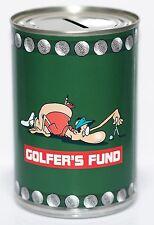 Golfisti Fund Contanti Can,Salvadanaio A Forma Di Barattolo STANDARD Risparmio