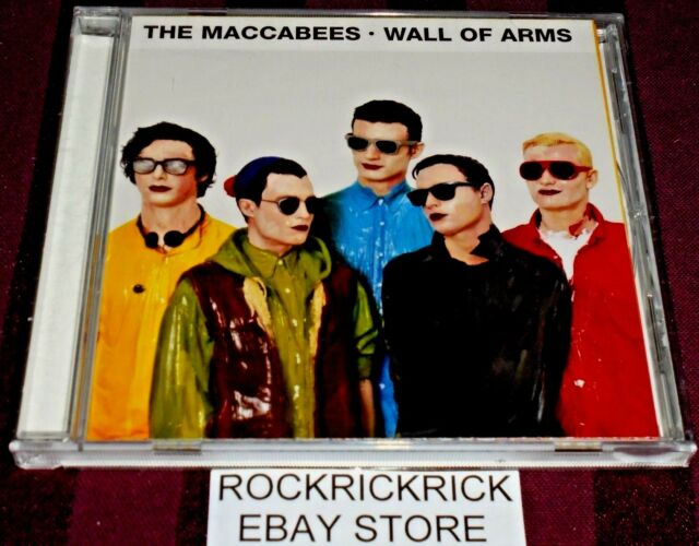 THE MACCABEES - WALL OF ARMS -11 TRACK CD- (Fiction Records – VVR70586)