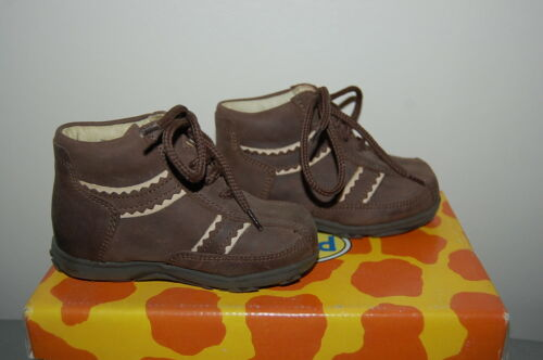 Toddler Boy Infants Ankle Shoes Real Suede Brown Size UK 2.5// 3.5// 5  EU18//19//21
