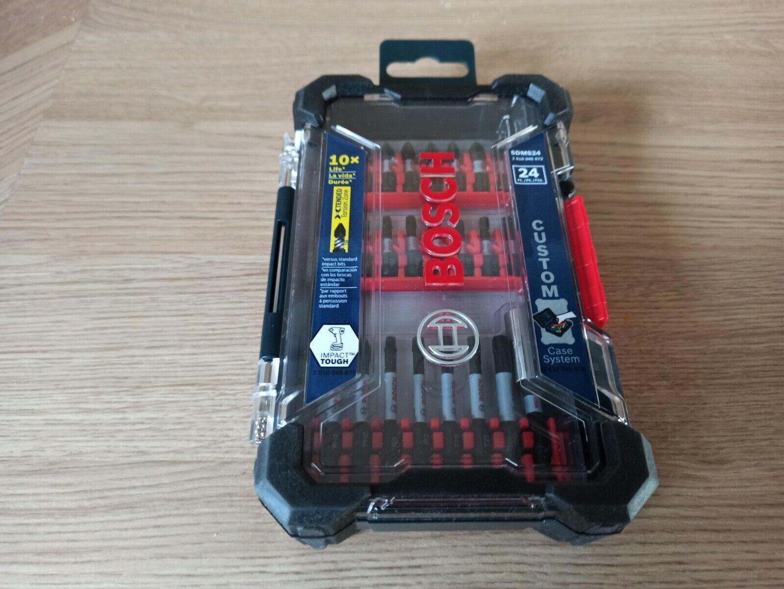 Set 24 Bosch Bit Neu SDMS24 - 24 Bit-Aufsätze mit Hardcase