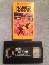 Rage of Honor (1987) - VHS Video Tape - Action / Drama - Shô Kosugi
