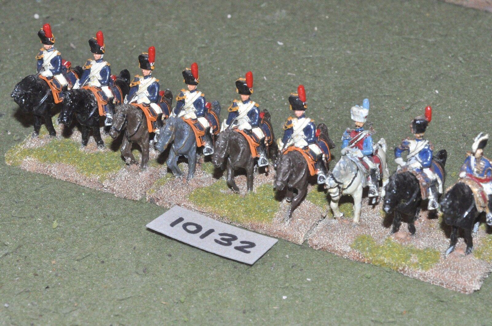 25mm napoleonic   french - horse grenadiers 9 cavalry - cav (10132)