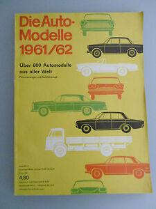 Auto Modelle AMS Katalog 1961/62 BMW Opel Ferrari Alfa Porsche Mercedes Benz uva - Deutschland - Auto Modelle AMS Katalog 1961/62 BMW Opel Ferrari Alfa Porsche Mercedes Benz uva - Deutschland
