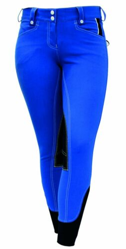 *CLEARANCE* Horseware Winter Adalie Ladies Knee Patch Breeches Imperial Blue