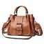 Women-Shoulder-Bags-Vintage-Handbag-Tote-Leather-Boho-Crossbody-Purse-Satchel thumbnail 14