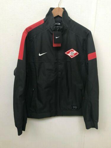 L-Gris-Neuf FC Spartak Moscou Nike Men/'s Stadium Shell Veste-Tailles M