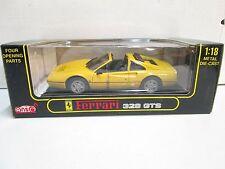 Anson Ferrari 328 GTS (yellow) 1/18